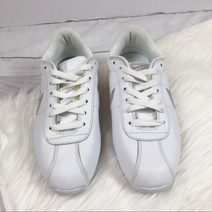 Nike Shoes - Nike Cortez White Gray Sneakers Qs Size 9 Shoes